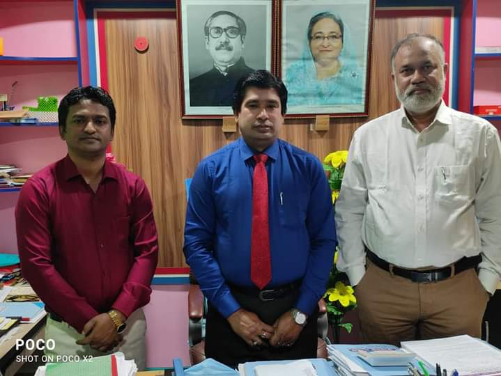 CEO sir and GM sir, on Sunamganj service sale office tour